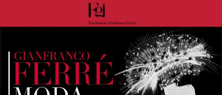 """Gianfranco Ferrè. """"Moda un racconto nei disegni""""-Cremona-2017. Locandina"""