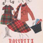 Copertina campionario tessuti Rossella Lanerossi 1965