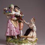 """""""Il capriccio e la ragione"""" -porcellana-M. Stibbert courtesy M. Tessuto"""