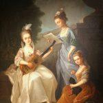 """""""Il capriccio e la ragione"""" -dipinto Concerto eredi A. Esposito courtesy M. Tessuto"""