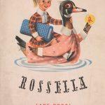 Studio Stile-Annuncio pubblicitario tessuti Rossella Lanerossi-1952