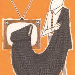 Bozzetto pubblicitario con inserto in tessuto-cartolina Lanerossi fine anni '50