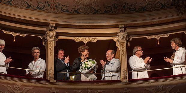 Carla Fendi al Festival dei Due Mondi 2013