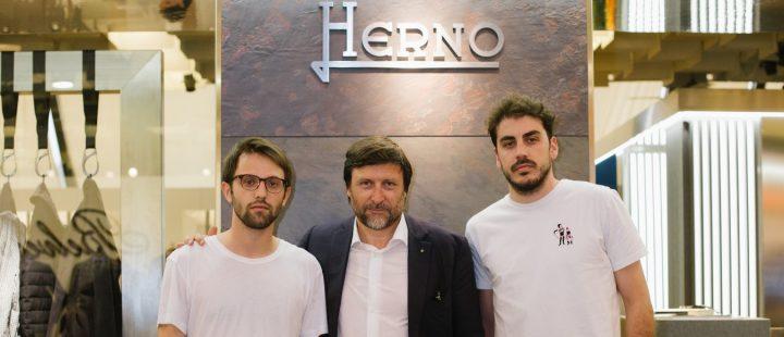 Claudio Marenzi e M140 Premio Herno Courtesy Herno