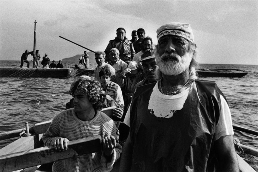 SEA(e)SCAPES © Sebastiano Salgado, Sicilia 1991 courtesy Contrasto Galleria Milano