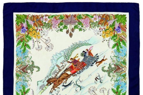 Foulard delle Montagne-Gucci 1971