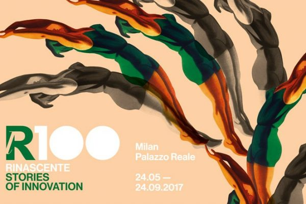 "Locandina Mostra Milano ""lR100. RINASCENTE. Stories of innovation"","