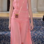 Valentino dress plissé rosa confetto