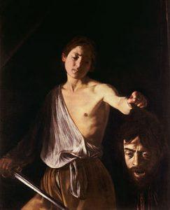 Caravaggio-David con la testa di Golia
