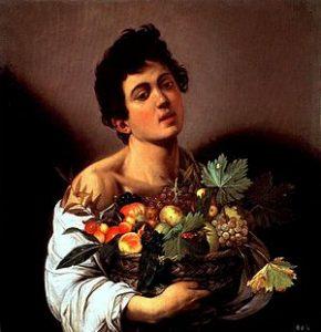 Caravaggio - Fanciullo con canestro