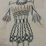 De Chirico, Figurino preparatorio - costume di soldato - Ripr. Archivio Storico del Teatro Maggio Musicale Fiorentino - ph. Monica Bracaloni