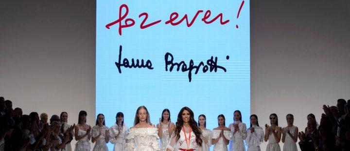 Laura Biagiotti P/E 2018 finale sfilata courtesy Biagiotti