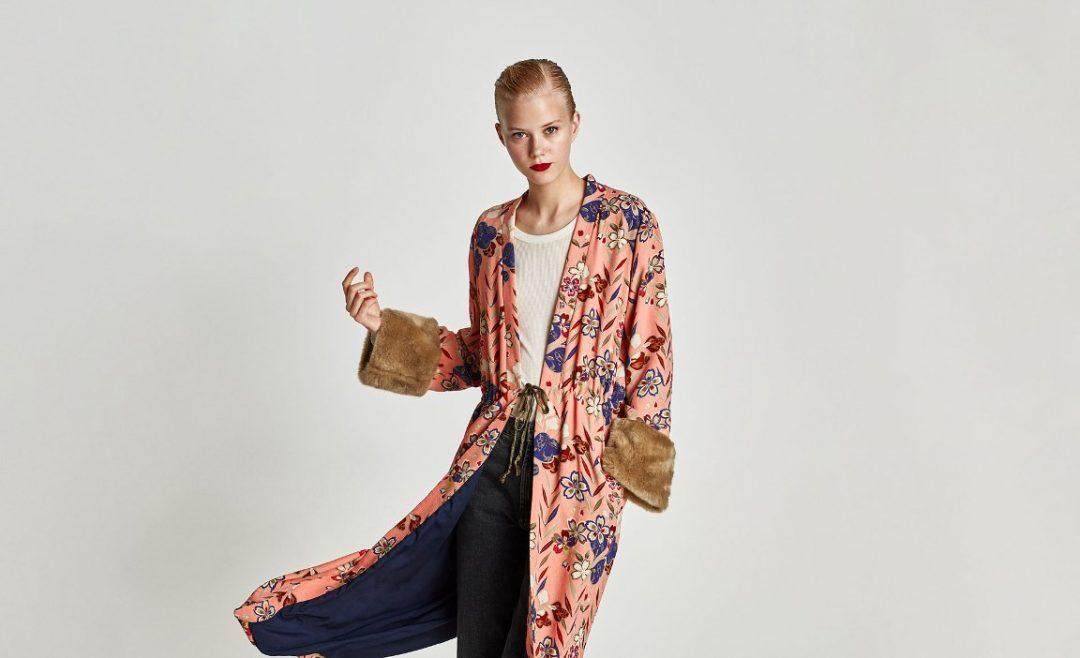 Zara A/I 2017- 18 - Kimono