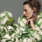 Muppet - Kermit per Miu Miu, ph. Alasdair McLellan