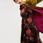 Zara A/I 2017-18 - kimono interno fodera a contrasto