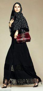 Abito Dolce&Gabbana per il mercato Islamico