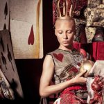 Calendario Pirelli 2018, Adwoa Aboah - Costumi Edward Enninful - ph. Tim Walker