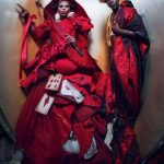 Calendario Pirelli 2018, Ru Paul e Djimon Hounsou - Costumi Edward Enninful - ph. Tim Walker