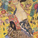 Donna con ventaglio - Gustav Klimt, 1918, Wolfgang Gurlitt Museum Linz
