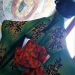 Kimono smeraldo, dettagli