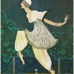 Georges Lepape Denise Poiret alla La Festa della Milleduesima Notte