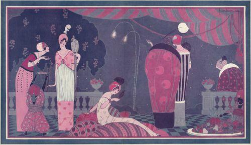 Georges Lepape La Festa della Milleduesima Notte