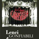 """"""" """"60 Anni Carosello: Lenci, gonfiabili e ritornelli"""" - Logo"""