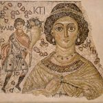 Frammento di Mosaico Bizantino 500-550 MET