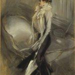 """""""Divina Creatura"""" Giovanni Boldini -Ritratto di signora -1900-1905"""