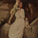 Lino Selvatico - bozzetto per ritratto 1917