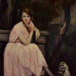 Lino Selvatico ritratto della moglie
