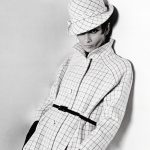 Audrey Hepburn, Givenchy checked
