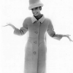 Audrey Hepburn in Givenchy coat