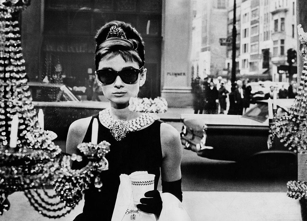 Audry Hepburn in Colazione da Tiffany