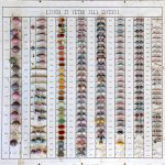 Cartella campionaria di perle di vetro XIX sec.- courtesy Museo del Vetro di Murano