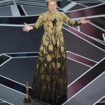 Frances McDormand - Oscar 2018 ph Chris Pizzello/Invision/ANSA/AP