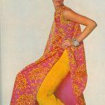 Givenchy yellow-pink summer, ph. I. Penn @ Vogue 1967