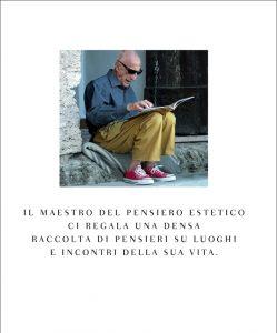 Gillo Dorfles - il retro dell'ultimo libro