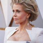 Jane Fonda, pendenti Chopard - Oscar 2018