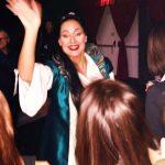 Live, Lady Montecchi (Roberta Faccani) saluta i fans - ph. Monica Bracaloni