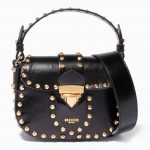 Moschino Hidden Lock Bag - Resort 2018 Micro piersing 3D Black version