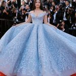 Aishwarya Rai Bachchan, turchese esagerato by Ashi Studio - Photo credit © GettyImages