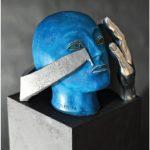 """Giudo Angeletti- La stessa mano 2017 -foto dal catalogo """"Guido Angeletti. Sculture/Sculptures"""""""