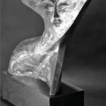 """Giudo Angeletti- Sognatrice 2017 -foto dal catalogo """"Guido Angeletti. Sculture/Sculptures"""""""