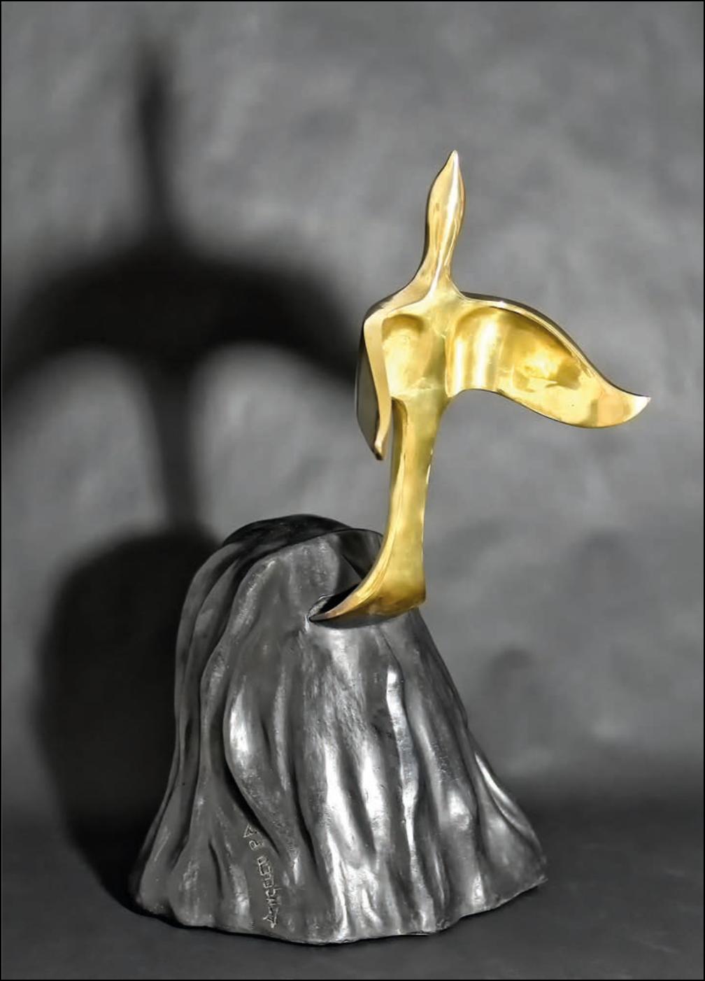 """Giudo Angeletti- Libera 2017 -foto dal catalogo """"Guido Angeletti. Sculture/Sculptures"""""""