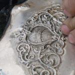 L'arte dello sbalzo e del cesello