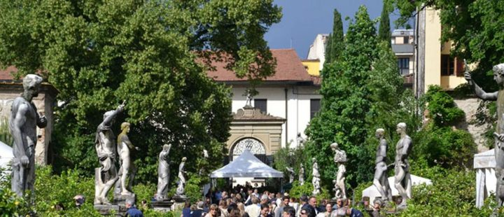 Giardino di Palazzo Corsini durante Artigianato e Palazzo