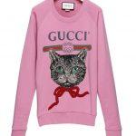 Gucci Mystic Cat felpa con strass ©Gucci