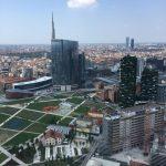 Vista su Milano dal 30° piano della Regione Lombardia ph S. Como Bersani