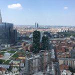 Vista su Milano dal 30° piano della Regione Lombardia